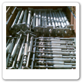 M27 Anchor Bolts with welded sleeve